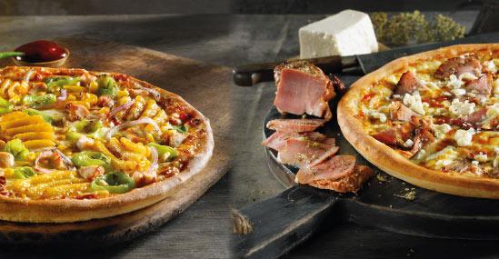 Φτιάξε τη δική σου πίτσα!